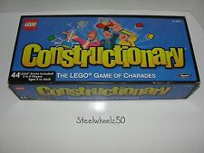 Constructionary The Lego Game Of Charades Board Game RoseArt 2003 The Lego Group