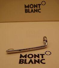 MontBlanc pen replacement parts Pocket Clip Mont Blanc New Platinum