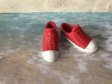 BARBIE KEN DOLL RED & WHITE SNAKERS TENNIS CASUAL SHOES