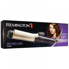 Remington CI5338 Variable Temp Curling Tongs Hair Styler 38mm Fast Heat Up Black