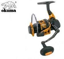 Okuma Trio 80a Saltwater Spinning Reel 10 Ball Bearings