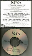 PHARCYDE & MYA Fallen 3TRX w/ RADIO MIX & 2 REMIXES PROMO DJ CD single 2003 USA