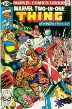 Marvel Two-in-one # 74 (thing + Puppet Master) (Estados Unidos, 1981)