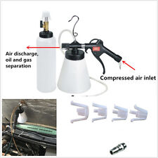 Portable 1L Car Brake & Clutch Bleeder Bleed Vacuum Pump Pneumatic Fluid Bottle