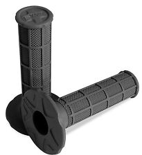 Pro Taper Single Density Full Waffle Grips Dirt Bike MX 125 250 450 CR/KX/RM/YZ