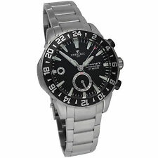 Perrelet Diver Seacraft GMT Automatic Men's Luxury Watch A1055/B Diver Swiss