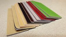 """CUSTOM COLOR PAPER MICARTA KNIFE HANDLE SCALE BLANKS 1/8"""" (.125) thick"""