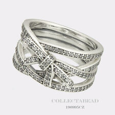 Authentic Pandora Sterling Silver Delicate Sentiments Ring Size (4) 48 190995CZ