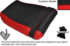 BLACK & RED CUSTOM FITS KAWASAKI ZXR 250 A 88-91 REAR SEAT COVER