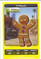 Carte Carrefour Dreamworks n° 24/216 - TIT BISCUIT - Shrek