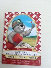 Sorcerers of the Magic Kingdom Gopher's Demolition Dynamite Card 46/70