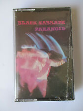"BLACK SABBATH ""PARANOID"" IMPORT CASSETTE TAPE - BRAND NEW"