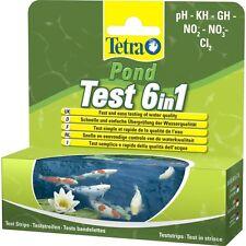 Tetra 6-in-1-teich-teststreifen - Teich Schnelltest 6 In 1 25 Tests Sichere