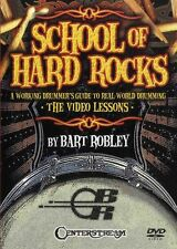 Bart Robley School Of Hard Rocks Learn to Play Pop Metal Drums Music DVD