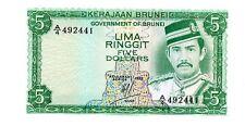 Brunei ... P-7b ... 5 Dollars ... (1983) ... *UNC*