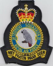 RAF no. 322 Dutch Squadron Royal Air Force Crest Badge Patch MOD Approved