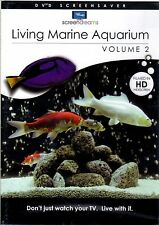 Screen Dreams LIVING MARINE AQUARIUM V. 2 VIRTUAL EXOTIC FISH TANK for HDTV! NEW
