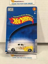 #2  '40 Ford Coupe * WHITE * w/ Real Riders * TOMART'S Hot Wheels * H45