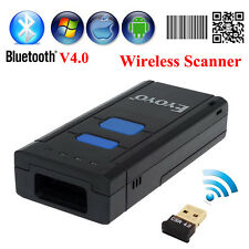 Bluetooth 4.0 Wireless Handheld Portable QR Barcode Scanner Bar Code Scan Reader