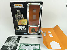 "replacement vintage star wars 12"" Boba fett box + inserts"