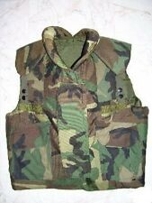 US Army PASGT Kevlar Weste Body Flag Vest woodland camouflage Medium