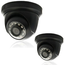 2X 1000TVL HD Outdoor/Indoor IR Surveillance CCTV Security Camera Day Night