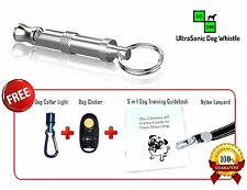 Dog Whistle and Dog Clicker Training Kit