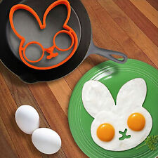 Breakfast Kitchen Fried Egg Mold Pancake Mould Shaper Cooking Tool Orange HOTc