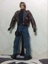 Custom Hot 1/6 Toys Resident Evil 4 Leon S. Kennedy Scale Figure LEATHER 12""