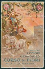 Roma Concorso Fiori cartolina XB0264