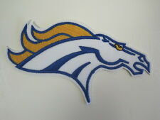 Denver Broncos Motif nfl football Embroidery Applique Iron On Patch
