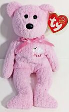"TY Beanie Babies ""BABY GIRL (It's A Girl)"" Stork Teddy Bear - MWMTs! GREAT GIFT!"