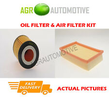 PETROL SERVICE KIT OIL AIR FILTER FOR VAUXHALL AGILA 1.2 75 BHP 2000-04