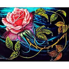 5D Full Drill Flowers DIY Diamond Embroidery Painting Cross Stitch Home Decor