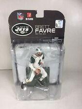 Brett Favre: New York Jets Mcfarlane Nfl Series 19  (PACKAGE HAS WEAR)