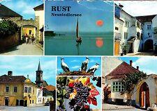 Freistadt Rust am Neusiedlersee , Ansichtskarte , gelaufen