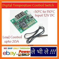 E69 DC12V -50C Cool 110°C Hot Digital Thermostat Temperature Control Switch 220V