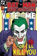 Batman POSTER Joker Dark Detective Political Vote For Me Comic Cover DC Retro