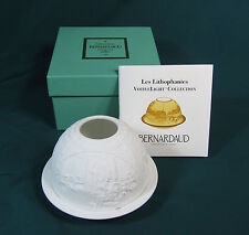 Bernardaud The Impressionists Lithophane Votive Light - MIB