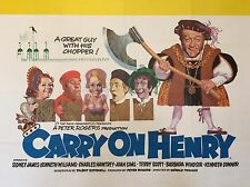"Carry on Henry 16"" x 12"" Reproduction Movie Poster Photograph"