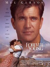 Affiche 120x160cm FOREVER YOUNG (1993) Mel Gibson, Jamie Lee Curtis TBE