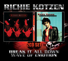 RICHIE KOTZEN  - Break It All Down/Wave Of Emotion 2CD Set (SFMTFCD019)