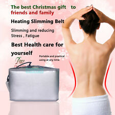 FIR Infrared Sauna Heating Slimming Belt Weight Loss Detox Beauty Fitness Device