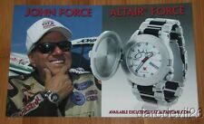 2014 John Force Altair Force Watch NHRA postcard