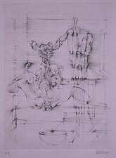 """Bellmer, Hans (1902-1975) - Radierung """"Homage Picasso""""  H. C."""