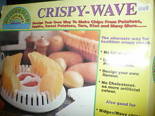 EUC VINTAGE KITCHEN CLUB CRISPY WAVE POTATO APPLE KIWI FRUIT CHIP MAKER NATURAL
