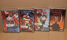 Getter Robo: Armageddon Vol. 1; 2; 3 and Black Lion Anime R1 Brand New DVD Set