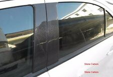 Carbon Fiber B Pillar Covers Stick On For Mitsubishi Lancer EX 08-09