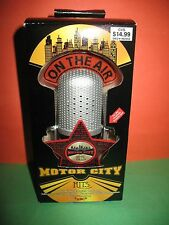 "Motor City Hits Illuminated Musical Ornament ""ABC"" Michael Jackson Five MICROPHO"