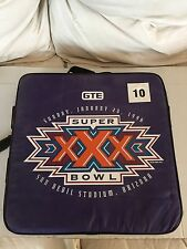Seat Cushion & (3)Cups from Super Bowl XXX & (1) Hockey Cup with Tkachuk/Roenick